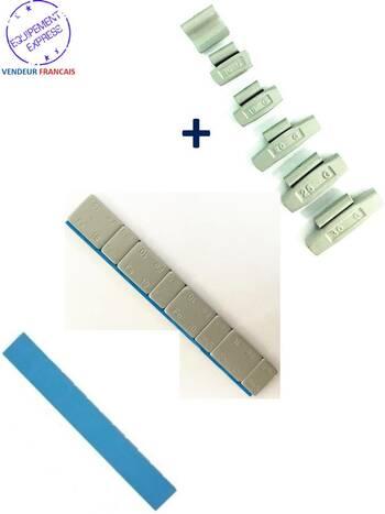 lot 100 masses d 39 equilibrage adh sifs 12x5gr 150 plombs frapper 5 30gr. Black Bedroom Furniture Sets. Home Design Ideas