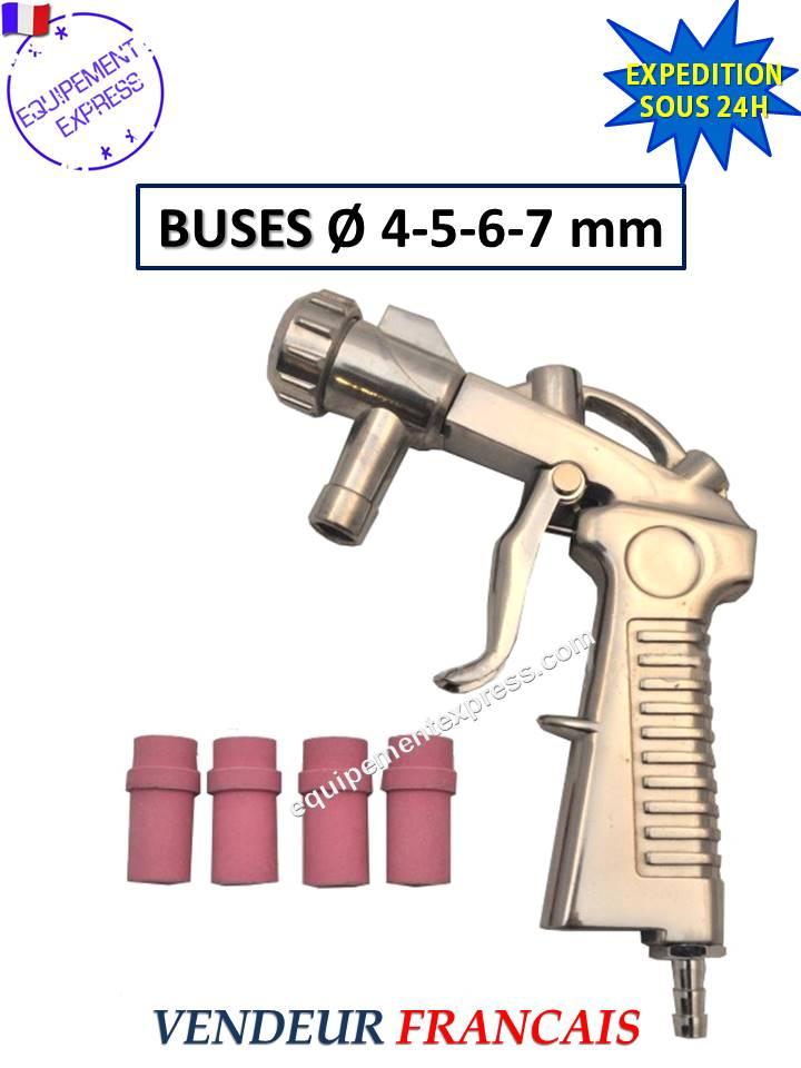 Pistola chorro de arena para arenadora microbilleuse con 4 for Pistola para arenar