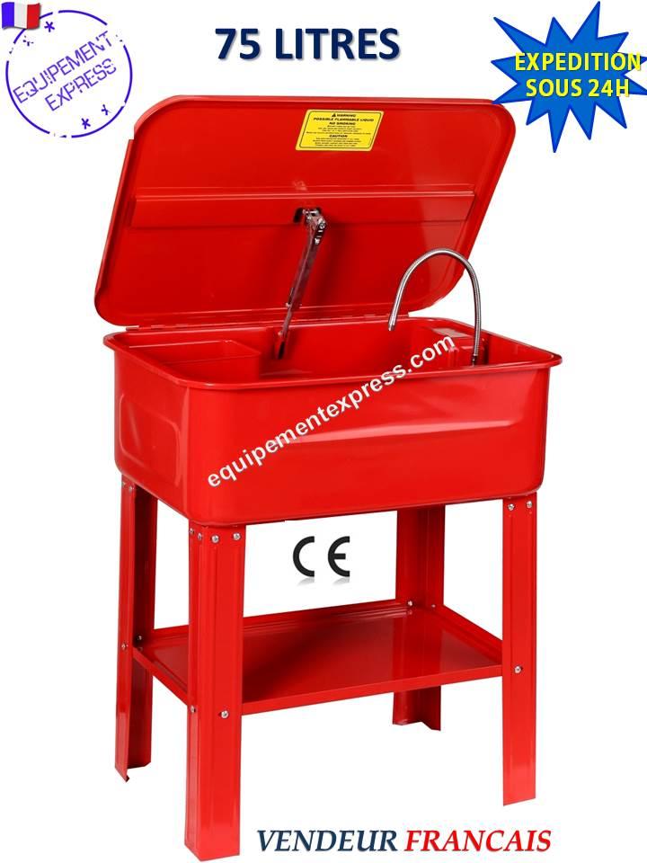 fontaine de nettoyage lavage 75l litres 20 gal pour pieces mecaniques. Black Bedroom Furniture Sets. Home Design Ideas