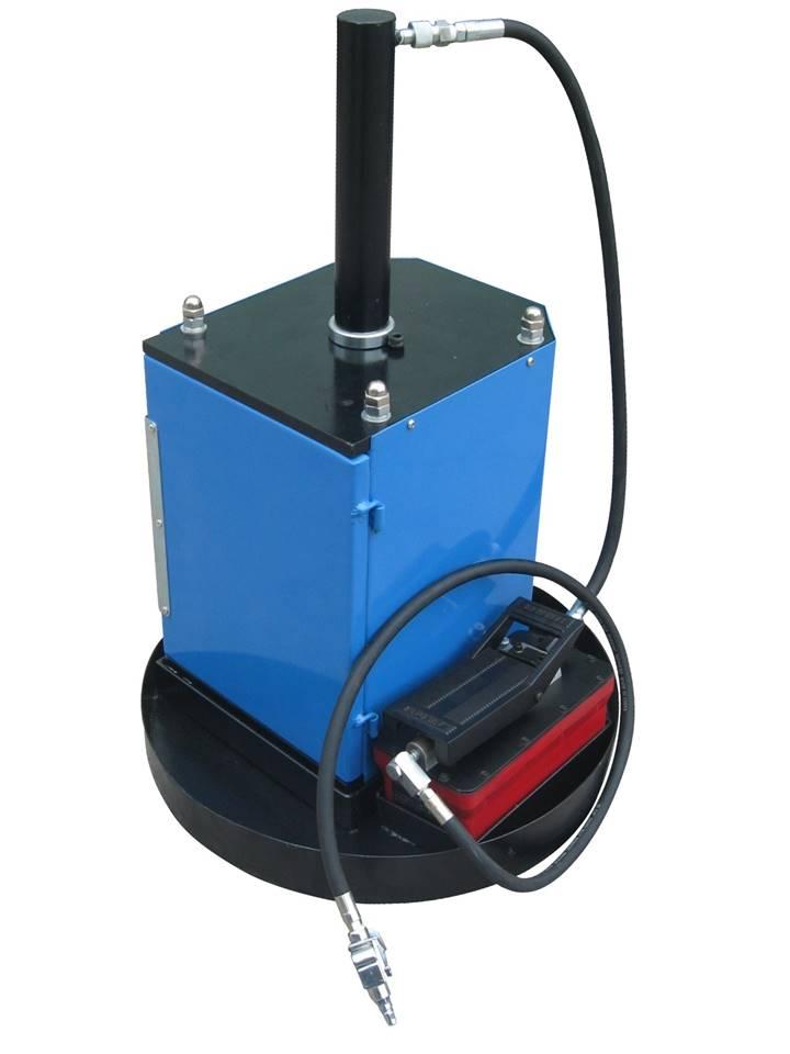 broyeur de filtre à huile pneumatique
