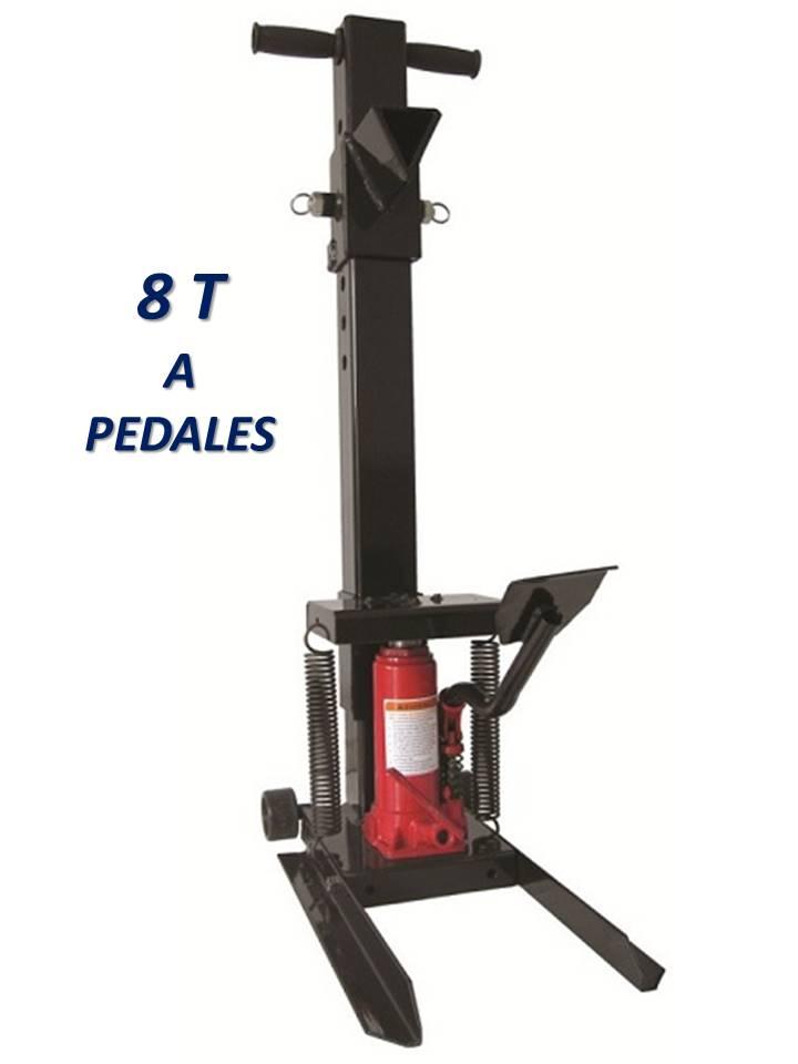 fendeur fendeuse de buche hydraulique a pedale 8t