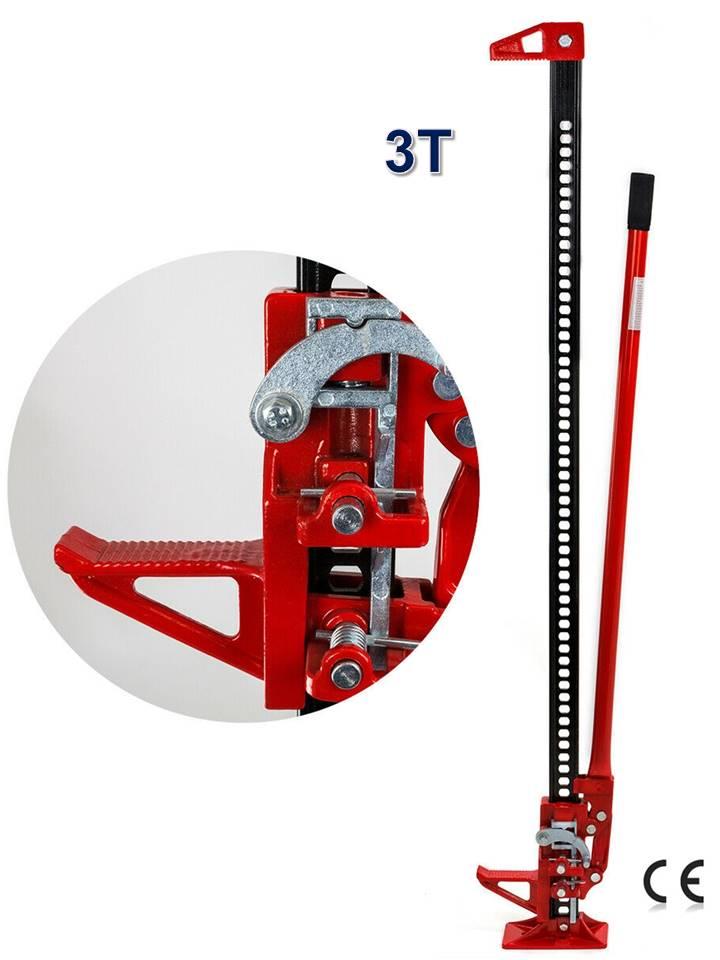 cric manuel farm jack hi lift 3 tonnes 60' grand modele 12,5 - 134 cm