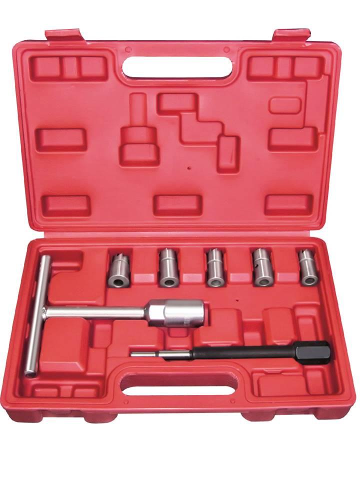coffret outils nettoyage de siège puits injecteur diesel 7pcs