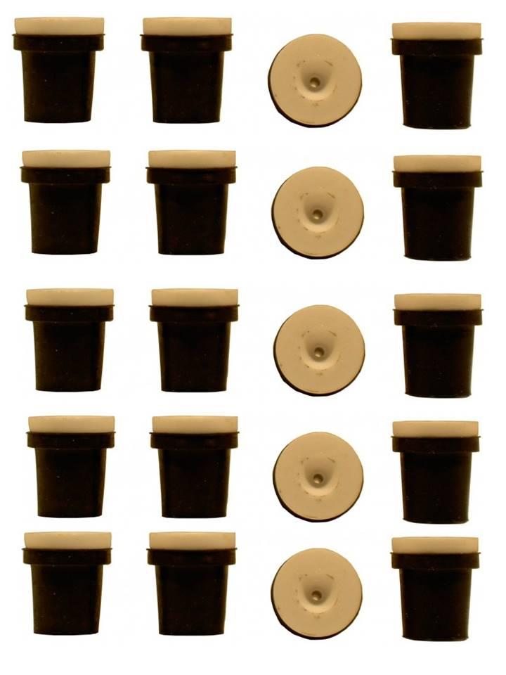 5 jeux de 4 buses céramique noires pour pistolet sableuse 38-76l : 2mm