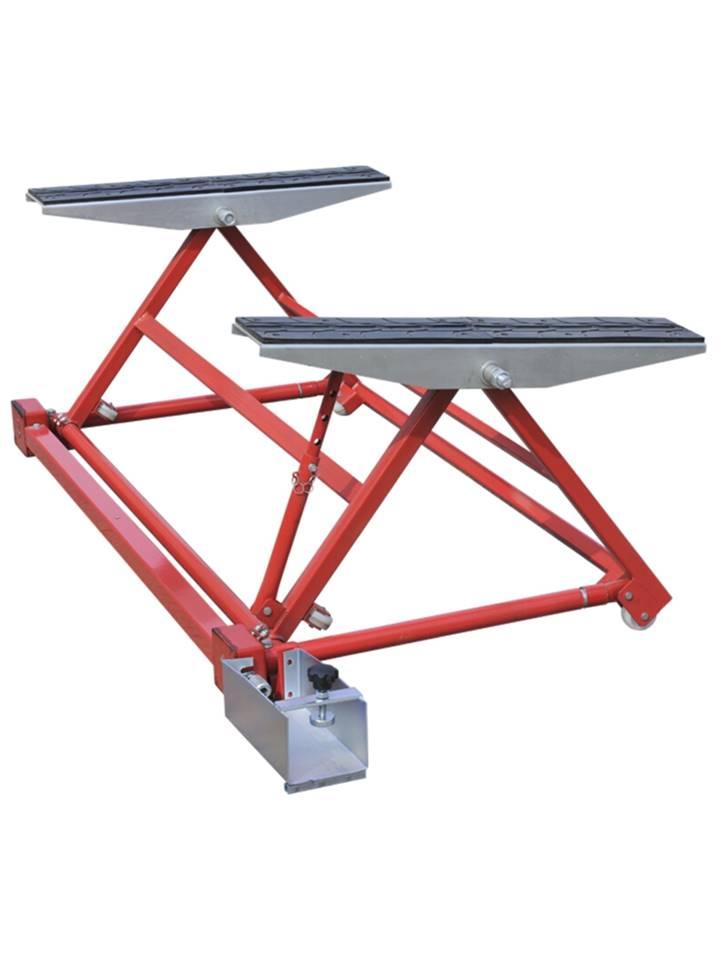 mini pont mobile elevateur basculant pour levage auto 1500 kg