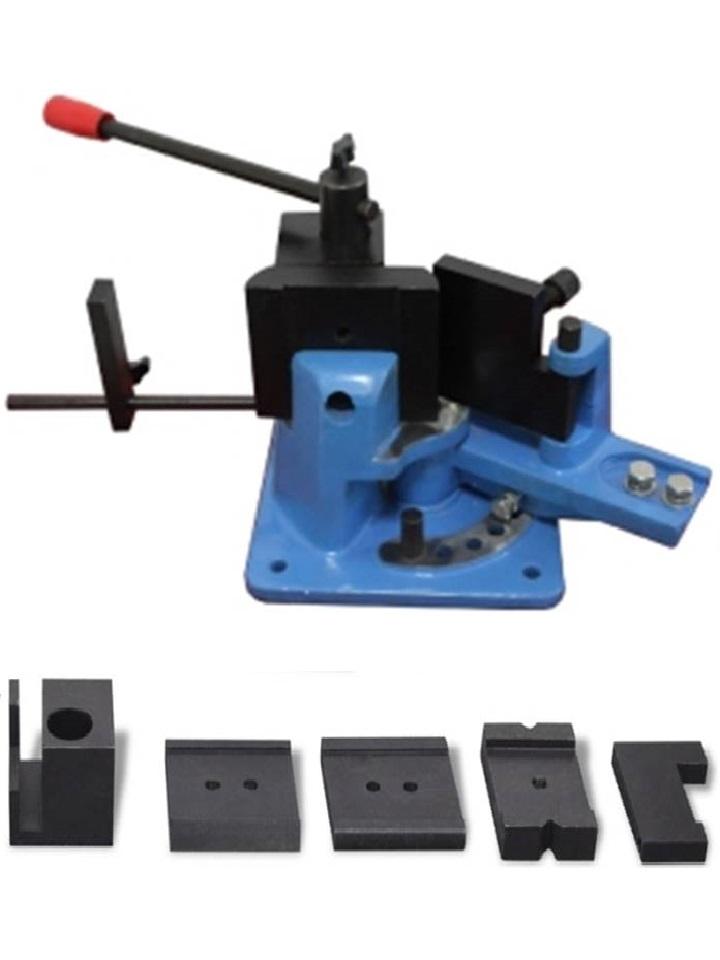 cintreuse plieuse - presse à cintrer fer plat plein 70 x 15mm / presse d'angle de serrage