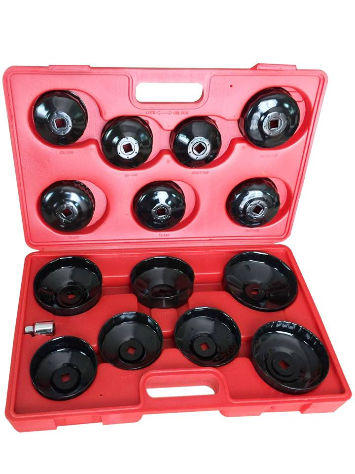 coffret 14 cloches clés clef filtre huile