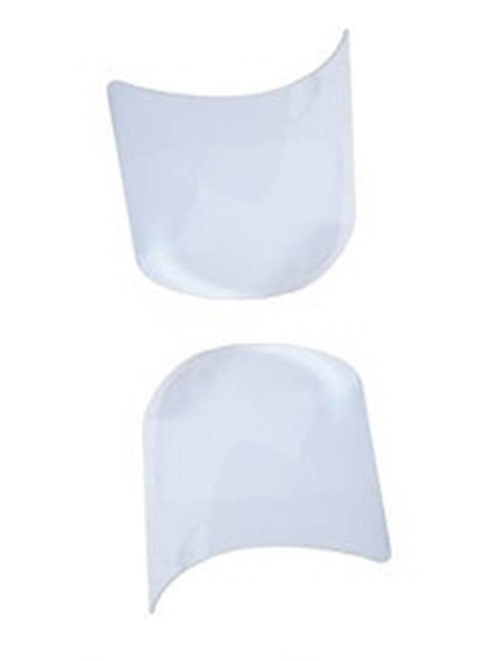 lot de 2 visieres pour masque cagoule de protection de sablage