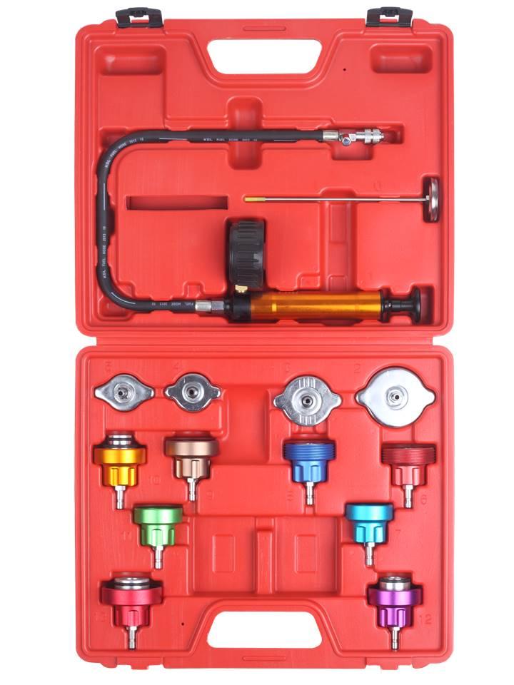 testeur de pression radiateur circuit refroidissement 14pcs