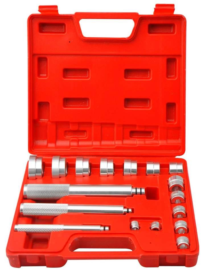 coffret outils montage / chasse roulements et joints 17 pièces