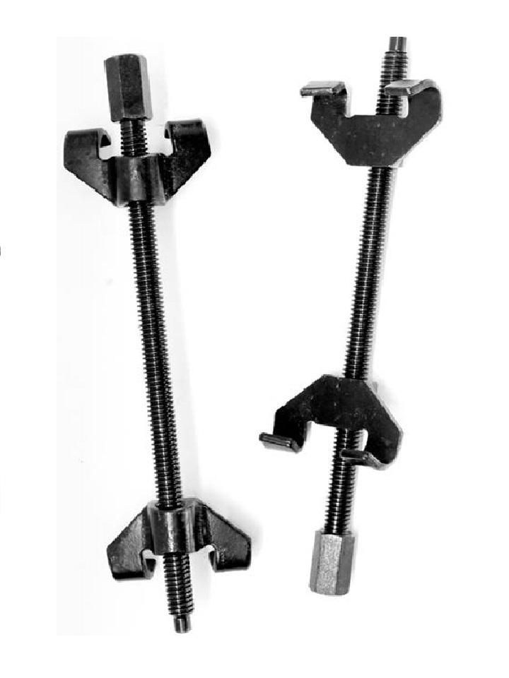 paire compresseurs de ressort amortisseur 2 griffes 370mm