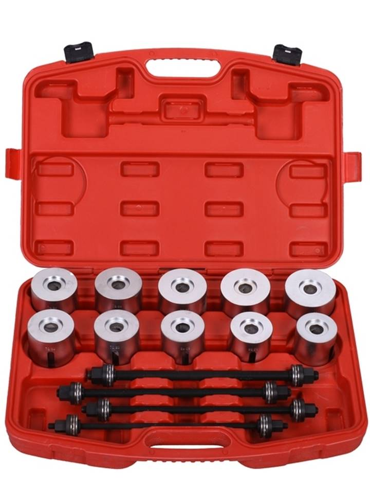 coffret extracteur silent bloc bagues outils pour montage et demontage de roulements 24 pcs